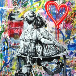 Work Well Together by Mr. Brainwash