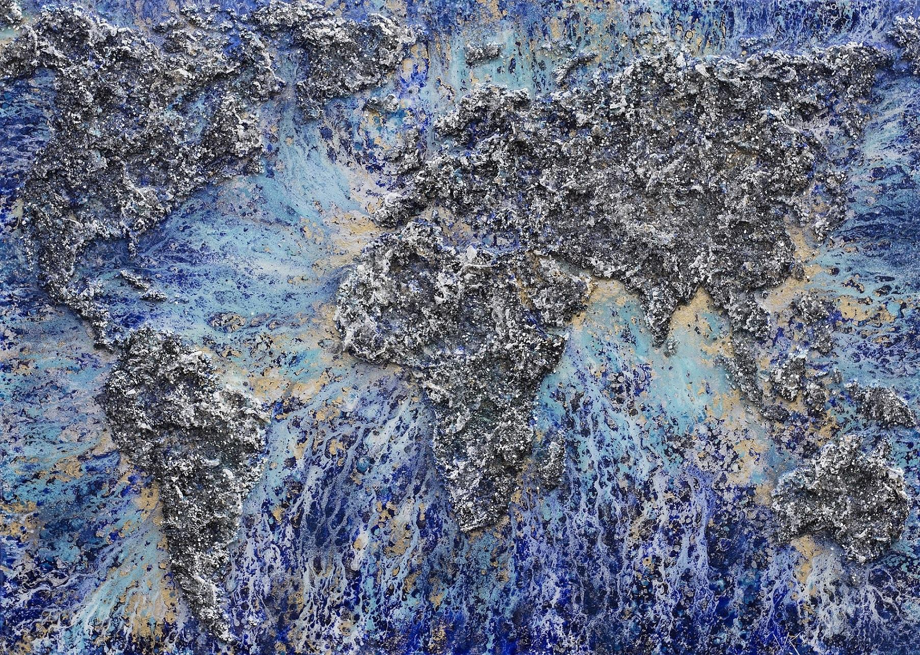 The World – XIV_ , 2017. 100x140cm